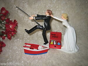 wedding cake funny toppers