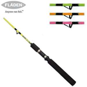 Fladen junior 4 1 2ft beginners fishing rod pink ebay for Best fishing pole for beginners