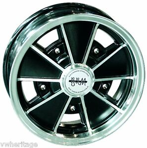 FLAT-FOUR-BRM-ALLOY-WHEEL-6-5-X-15-5-205-BLACK-SATIN