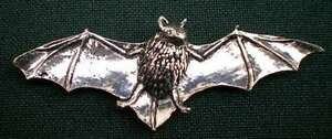 FLEDERMAUS-ANSTECKNADEL-PIN-A34-BAT