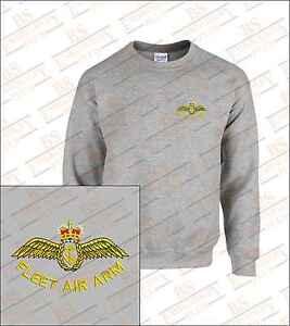 FLEET-AIR-ARM-Bestickt-Sweatshirt