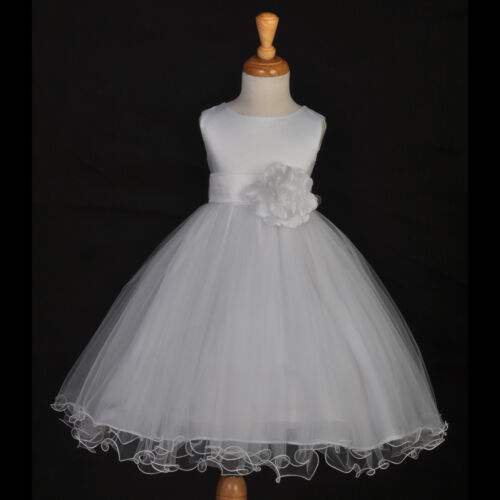 FLOWER GIRL DRESS WEDDING PAGEANT EASTER HOLIDAY 12M-18M 2/2T 4/4T 5/5T 6 8 9 10 in Clothing, Shoes & Accessories, Wedding & Formal Occasion, Girls' Formal Occasion | eBay