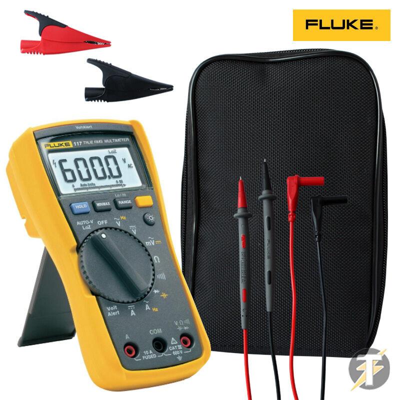 Fluke 117 True rms manual