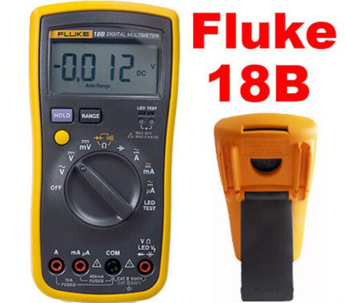FLUKE 18B F18B= Fluke 15B +LED Test Digital Multimeter in Business & Industrial, Electrical & Test Equipment, Test Equipment | eBay