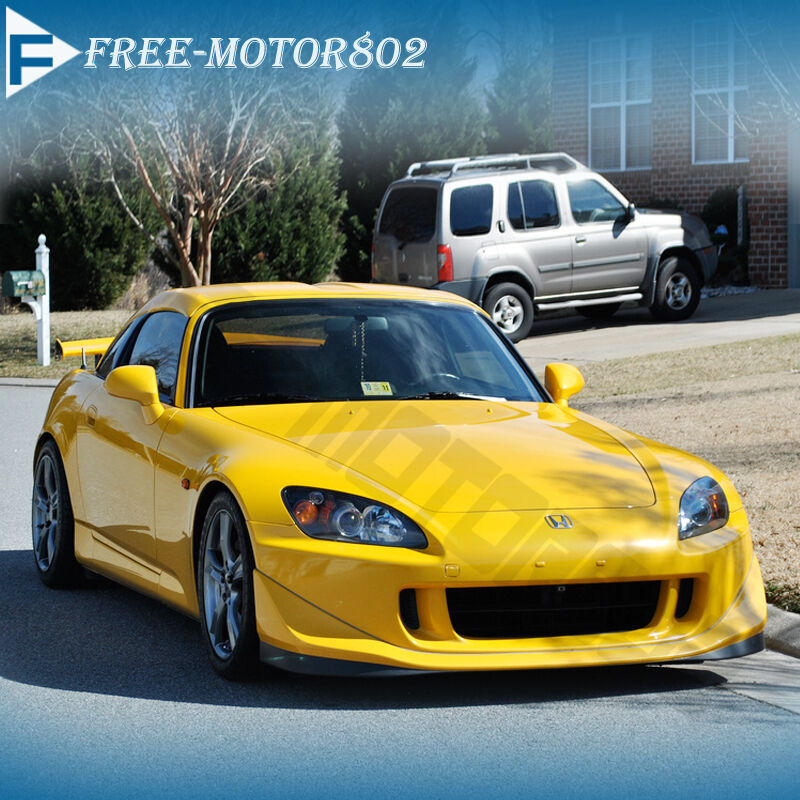 for 04 09 honda s2000 front bumper lip spoiler bodykit pu ap2 cr club racer ebay. Black Bedroom Furniture Sets. Home Design Ideas