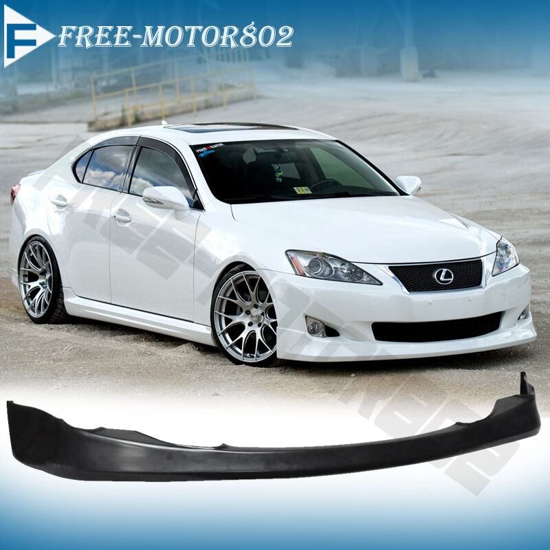 Used Lexus Is350: FOR 06-08 LEXUS IS250 IS350 JDM VIP FRONT BUMPER LIP