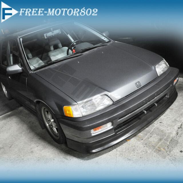 Ef Civic Sedan: FOR 88-90 HONDA CIVIC EF 4D SEDAN 3D HB CS FRONT BUMPER