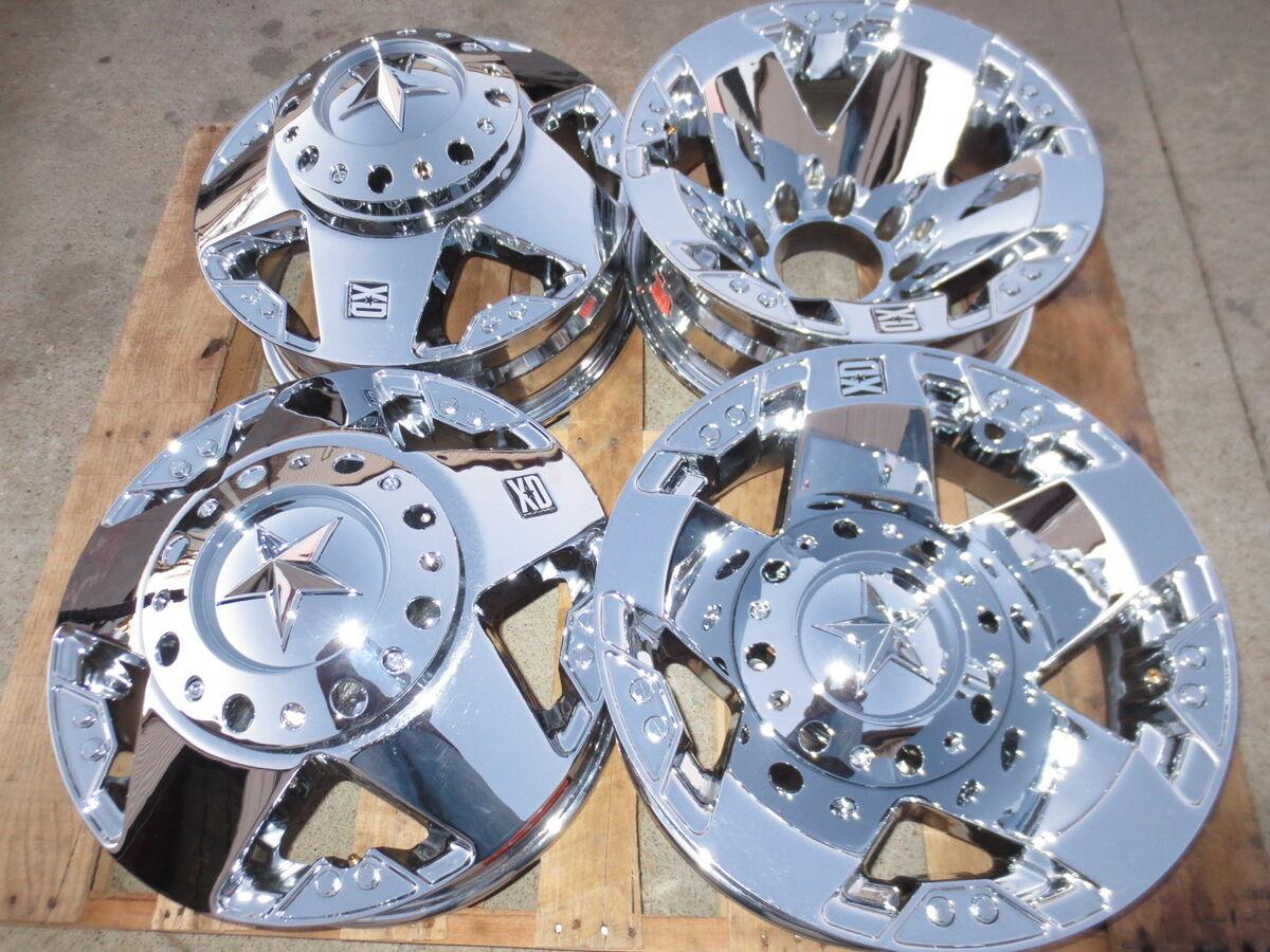 17 Chrome XD Wheels Alloys Rims New Set of 4 Best Deal 8x170