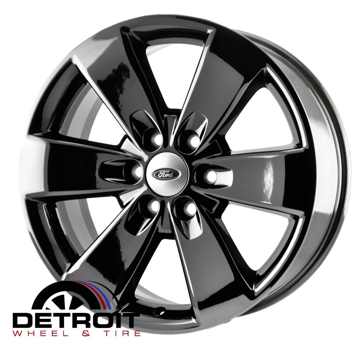 Ford F150 PVD Black Chrome Wheels Factory Rim 3833 Exchange 2010 2014