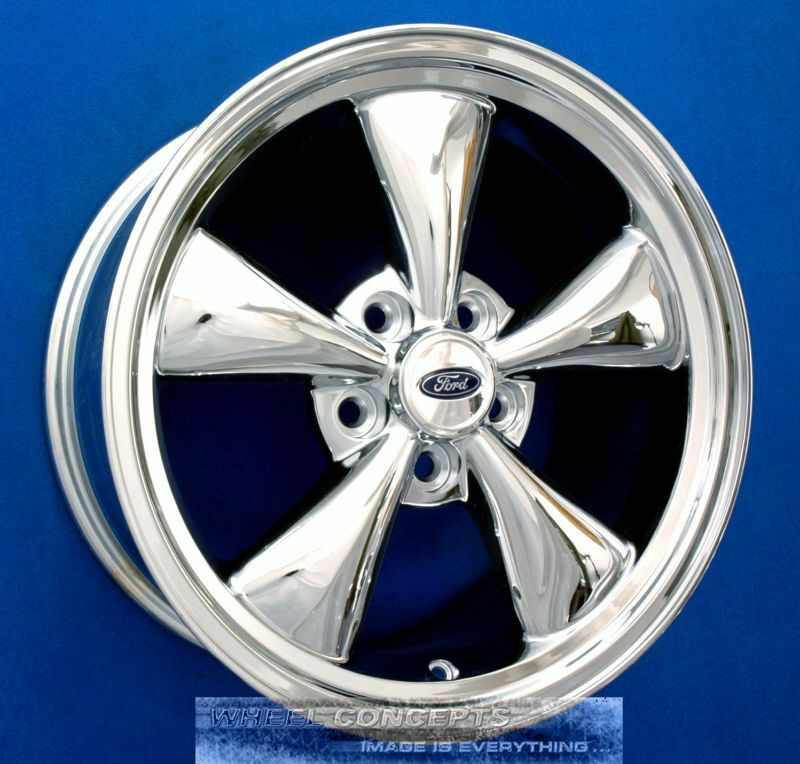 """Ford Mustang GT 17"""" Chrome Wheel Exchange 17x8 Rims New"""