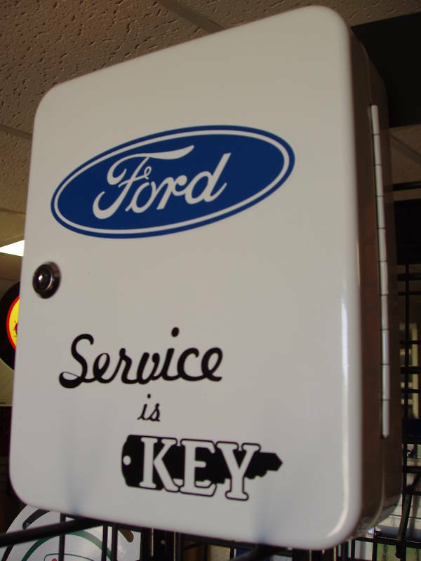 Ford Parts 1950s Dealership Repair Shop Key Box New
