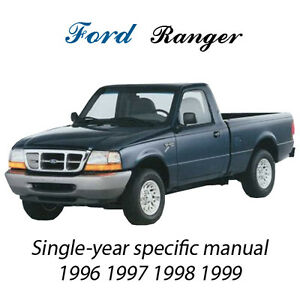 ford ranger     service repair manual ebay