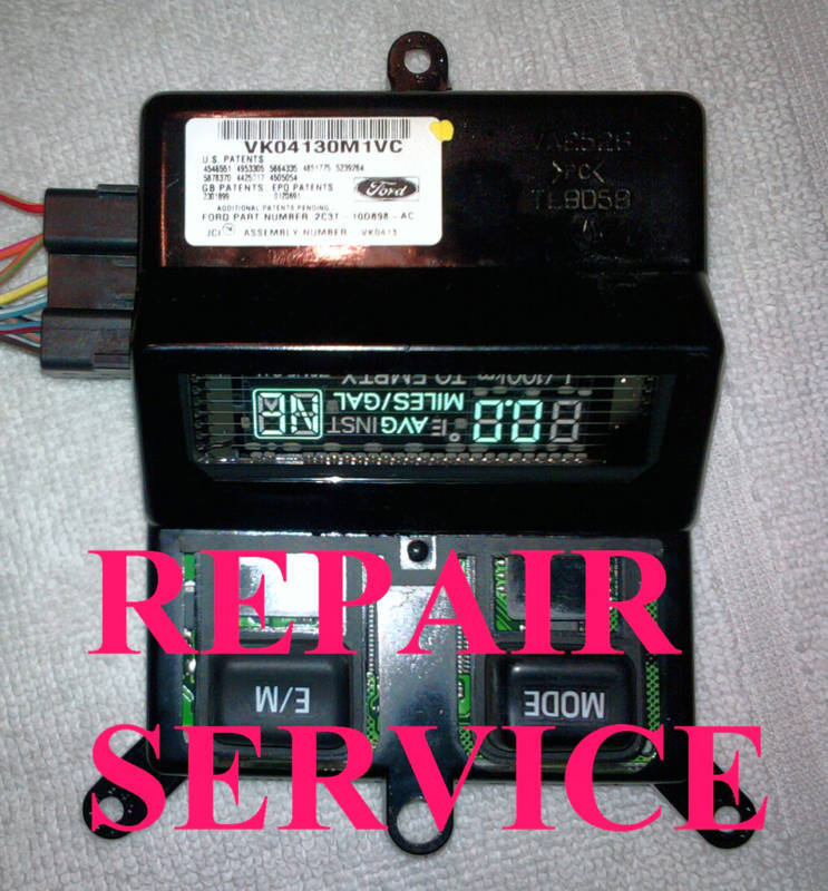 Ford Superduty F250 F350 Overhead Console Computer Repair We Have