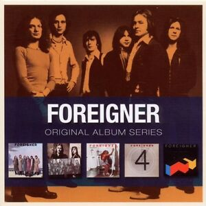 FOREIGNER-ORIGINAL-ALBUM-SERIES-5-CD-NEU