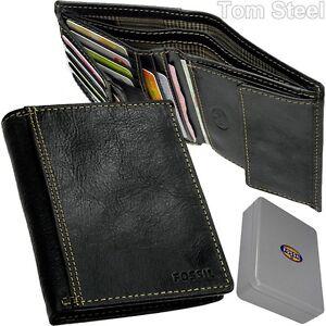 FOSSIL-Herren-Geldboerse-Portemonnaie-Geldtasche-Boerse-Brieftasche-Geldbeutel-NEU