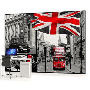 fototapete wandbild fototapeten bild tapete 059pp london bus stadt ebay. Black Bedroom Furniture Sets. Home Design Ideas
