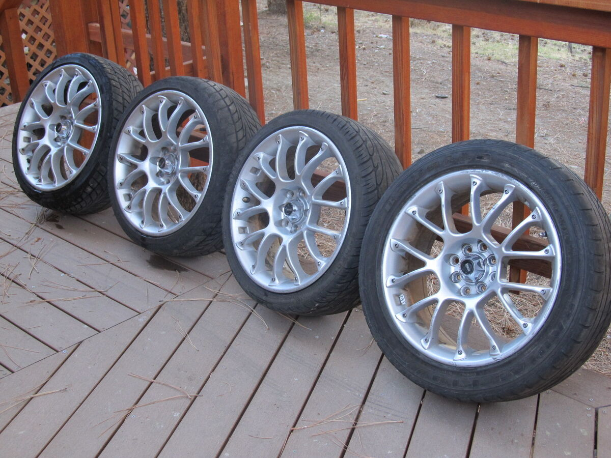 General At Tires >> Four 17 inch Konig Rims Wheels Tires