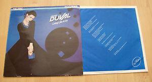 FRANK-DUVAL-LIVING-LIKE-A-CRY-Orig-German-Teldec-LP-6-25797-EURO-ITALO-DISCO