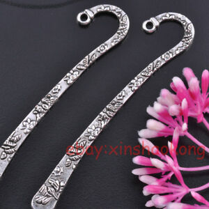 FREE SHIP 10pcs Tibetan Silver Nice Bookmarks KB1358 in Crafts, Beads & Jewelry Making, Beads, Pearls & Charms | eBay