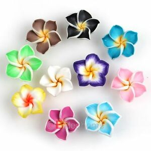 Free Fimo Polymer Clay Projects http://www.ebay.com/itm/FREE-SHIPPING-50pcs-Mixed-Flower-Fimo-Polymer-Clay-Spacer-Beads-15mm-111590-/160873875470