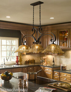 French Country Kitchen Island Lighting - Home Interior Design Ideas