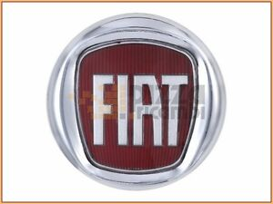 frp stemma fregio logo posteriore fiat 500 07 diametro 95 mm escudo frieze ebay. Black Bedroom Furniture Sets. Home Design Ideas