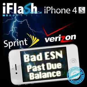 · jpeg, Activate Flash Unlock Verizon Sprint Cdma Iphone 4s Bad Esn