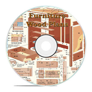 ... Work Plans Office Desks Chairs on CD Home Woodworking Plans | eBay
