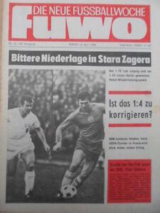 FUWO-16-16-4-1968-Olympia-Bulgarien-DDR-4-1-Junioren-EM-DDR-Frankreich-3-4