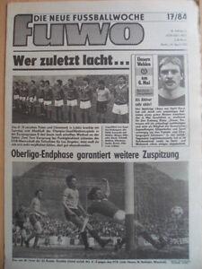 FUWO-17-24-4-1984-4-Olympia-DDR-Daenemark-4-0-Dresden-Rostock-5-0-Union-BFC-1-3