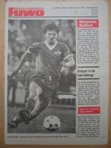 FUWO-33-12-8-1980-Artur-Ullrich-Olympia-Fussball-Bilanz-Statistiken