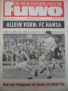 FUWO-34-22-8-1967-Hansa-Rostock-Erfurt-1-0-Zwickau-Stendal-4-0-Jena-Aue-3-1