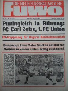 FUWO-40-3-10-1967-Ungarn-DDR-3-1-HFC-Jena-2-2-Aue-Stendal-3-1-Dresden-FCK-2-0