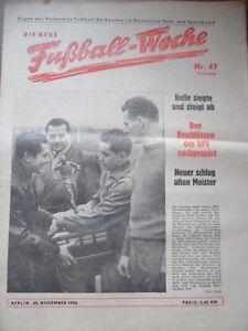 FUWO-47-25-11-1958-Halle-Babelsberg-OL-Absteiger-FDGB-Pokal-BRD-Osterreich-2-2