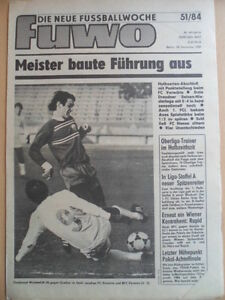 FUWO-51-18-12-1984-3-Wunderlich-Frankfurt-BFC-3-3-Jena-Dresden-4-0-Aue-Lok-2-1