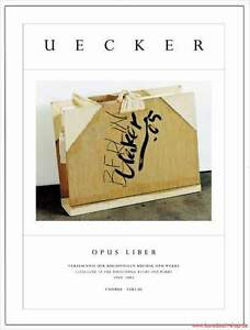 Fachbuch-Guenther-Uecker-Opus-liber-WERKVERZEICHNIS-1960-bis-2005-tolles-Buch