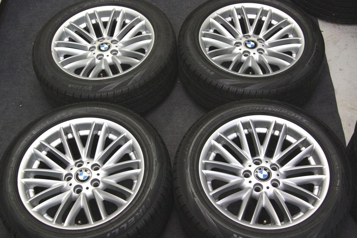 "Factory BMW 750LI 18"" Wheels Winter Snow Tires 7 Series 750i 745i 745LI"