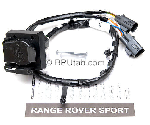 Factory OE 2012 2013 Range Rover Sport Tow Hitch Trailer Wiring Harness Electric