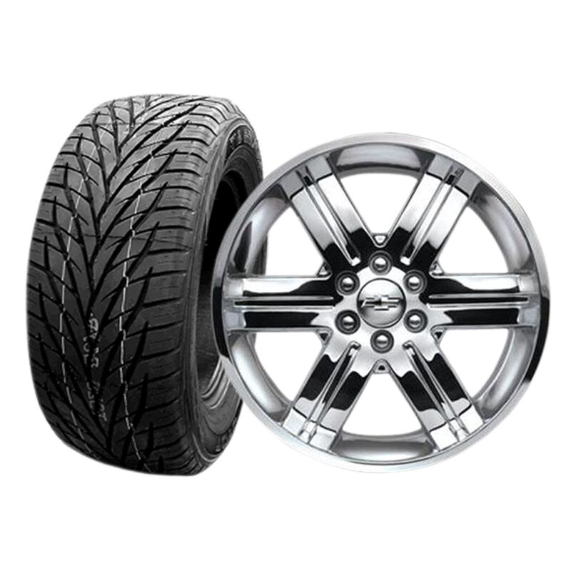 """Factory OE 22"""" Chevy GMC Cadillac CK919 Wheels Toyo Tires New Set of 4"""