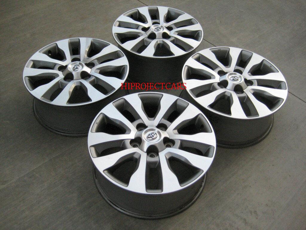 Factory Toyota Tundra Sequoia Platinum 20 Wheels Rims