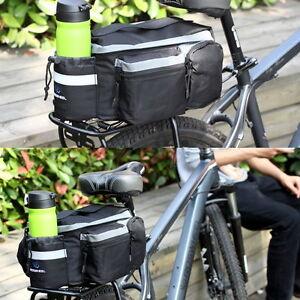 fahrrad gep cktasche satteltasche gep cktr ger tasche fahrradtasche rucksack ebay. Black Bedroom Furniture Sets. Home Design Ideas