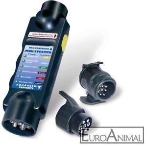 Fahrzeug-Anhaenger-Beleuchtungstester-mit-2-Adaptern