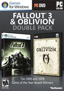 Fallout 3 & Oblivion Double Pack  (PC, 2...