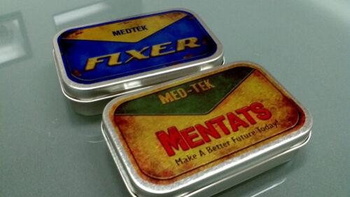Fallout Prop Wasteland Mentats & Fixer Tins - $10 - GREAT GIFT FOR GAMERS! in Entertainment Memorabilia, Video Game Memorabilia | eBay