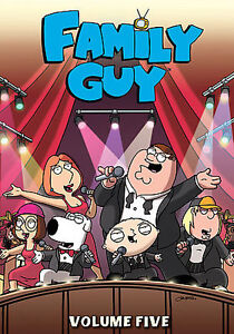 Family Guy - Volume 5 (DVD, 2007, 3-Disc...