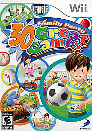 Family Party: 30 Great Games  (Wii, 2008...