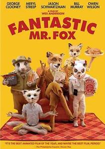 The Fantastic Mr. Fox (DVD, 2010)