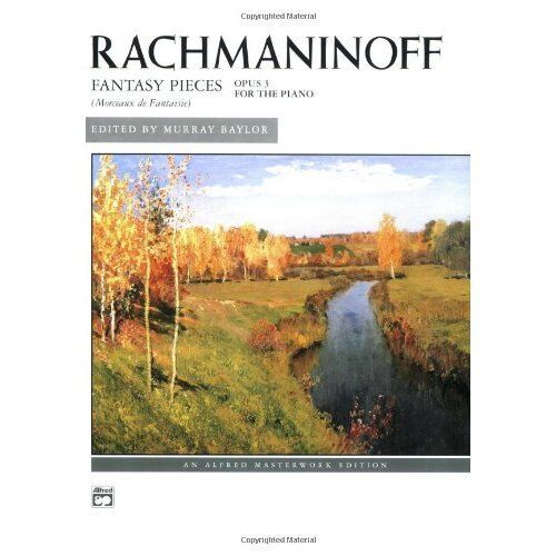 Sergei Rachmaninoff 5 Pieces Op 3 VAAP Edition Play CLASSICAL Piano Music Book