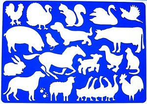 ... -Horse-Pony-Dog-Rabbit-Sheep-Cow-Calf-Cat-Drawing-Template-Stencil