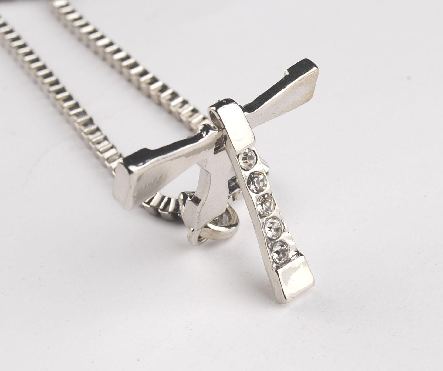 fashion fast and furious five toretto s cross pendant